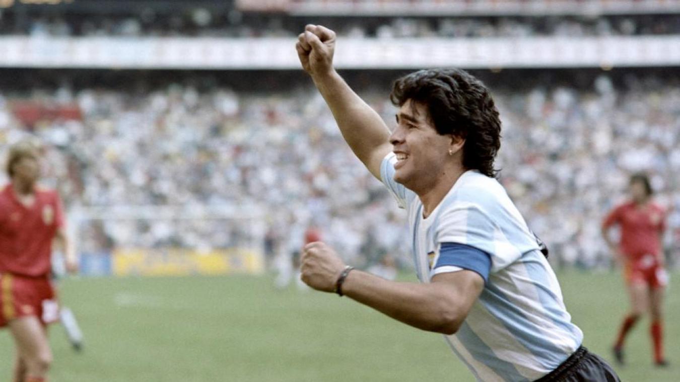 Le vibrant hommage de Lionel Messi à Diego Maradona — Barça