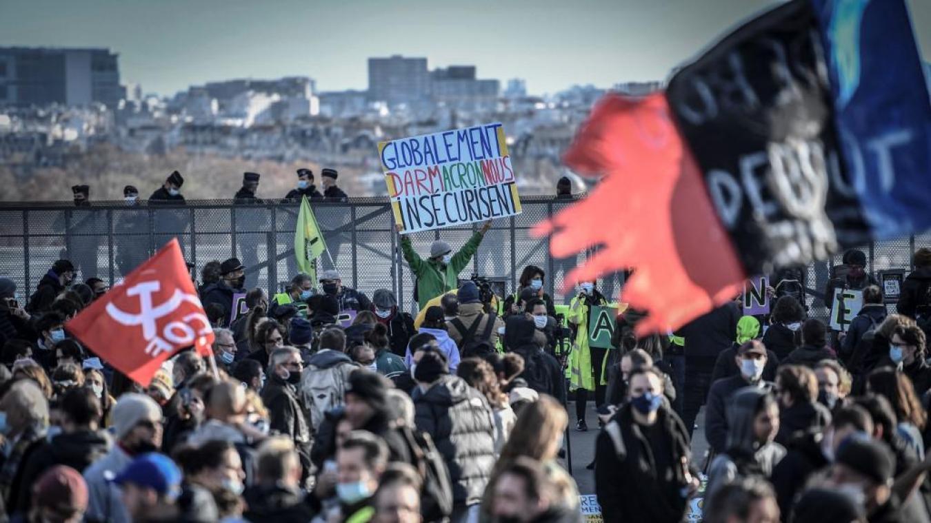 Securite Globale La Justice Autorise La Manifestation Samedi A Paris