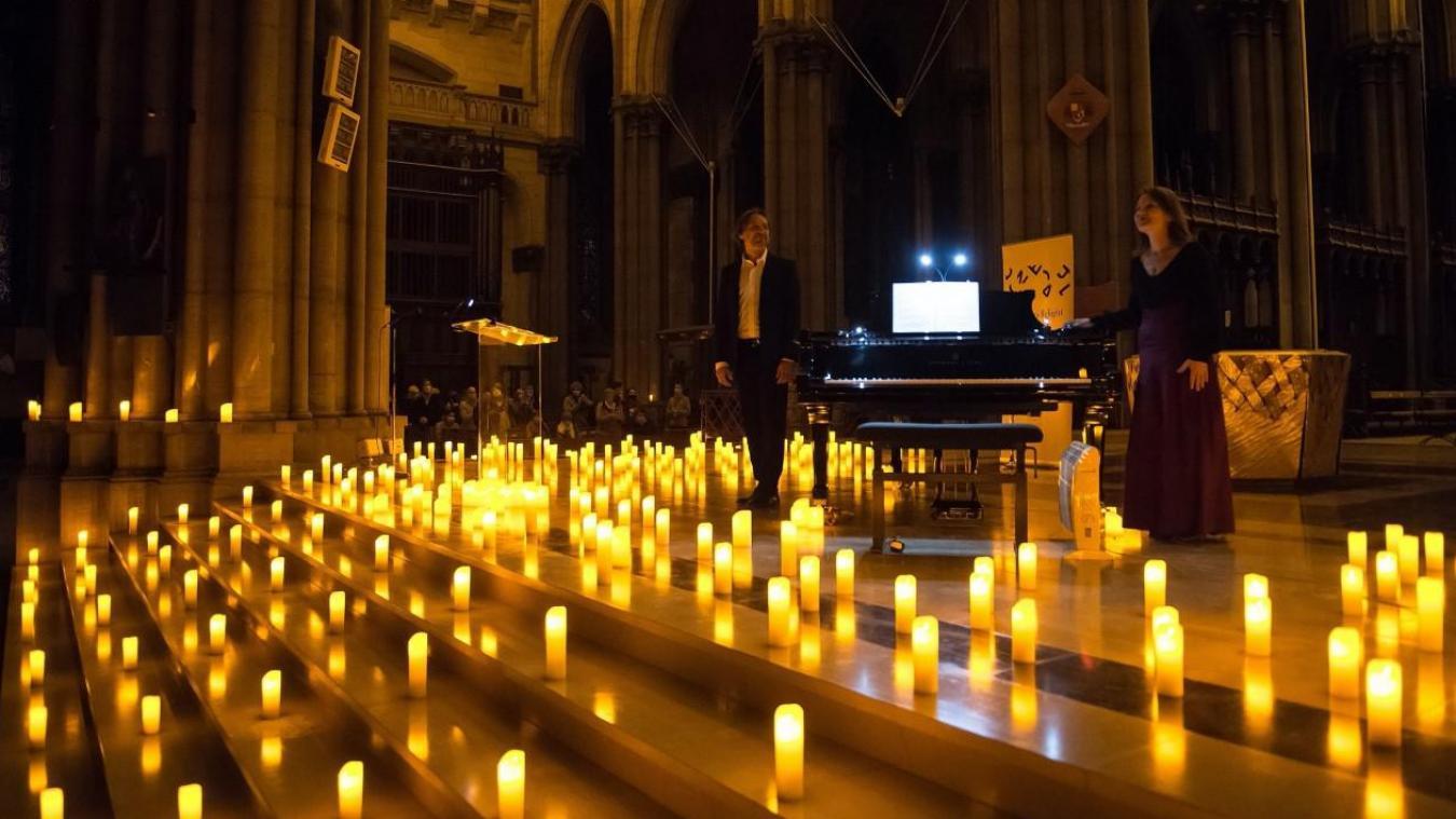 En octobre dernier, les artistes de Candlelight donnaient leurs premiers concerts à Lille.