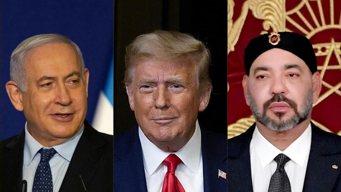 Trump annonce la normalisation des relations entre le Maroc et Israël