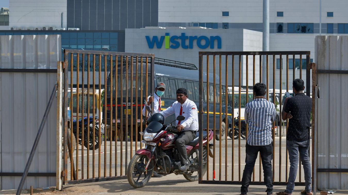 Inde : une usine d'iPhone saccagée par des ouvriers mal payés