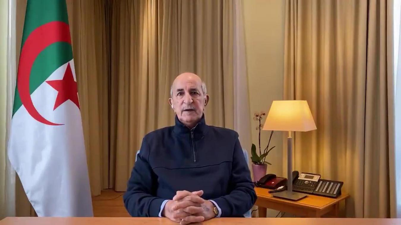 Algérie : première apparition publique du président Tebboune depuis près de deux mois