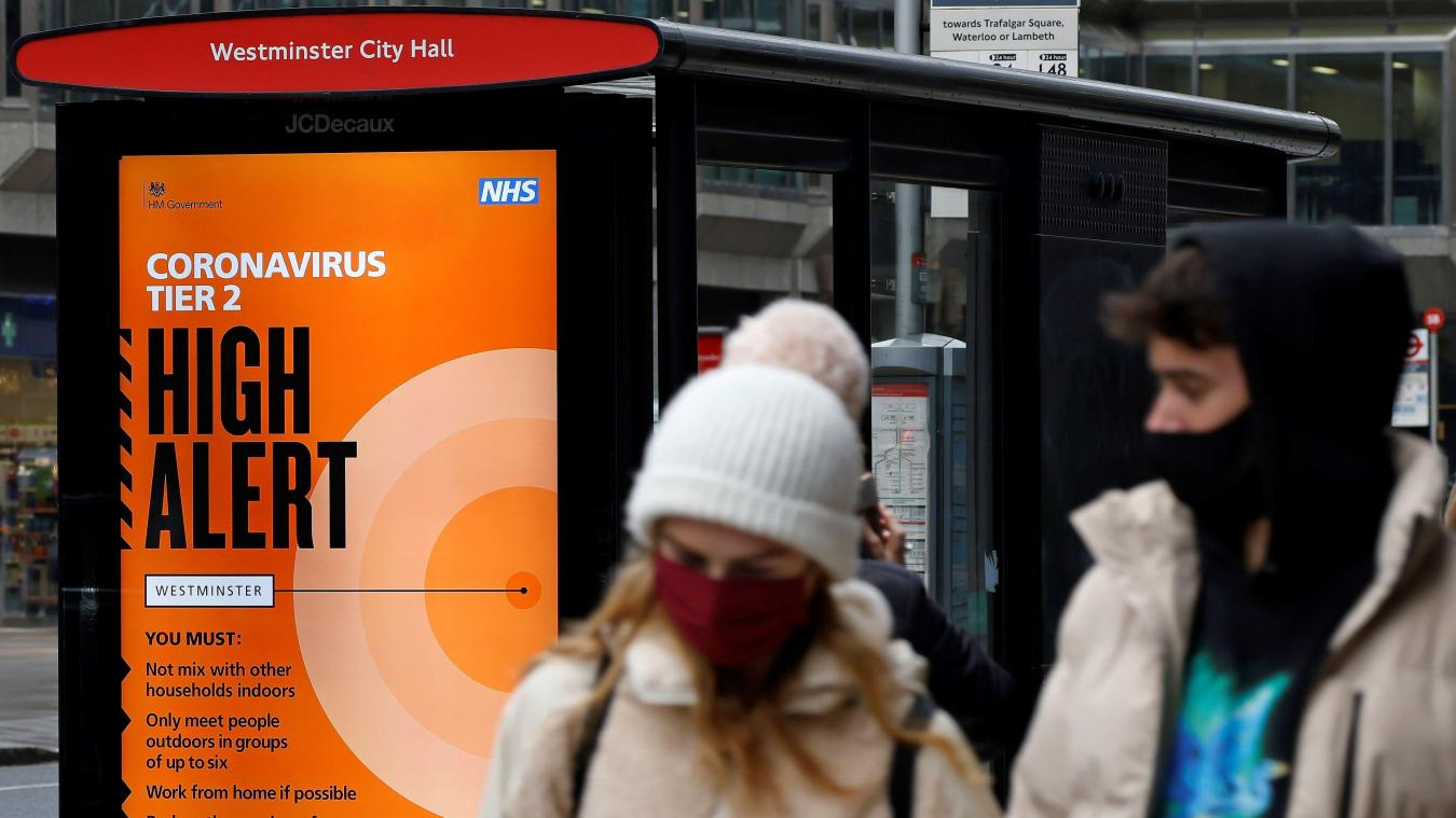 Le Royaume-Uni préoccupé par une mutation du virus — Covid