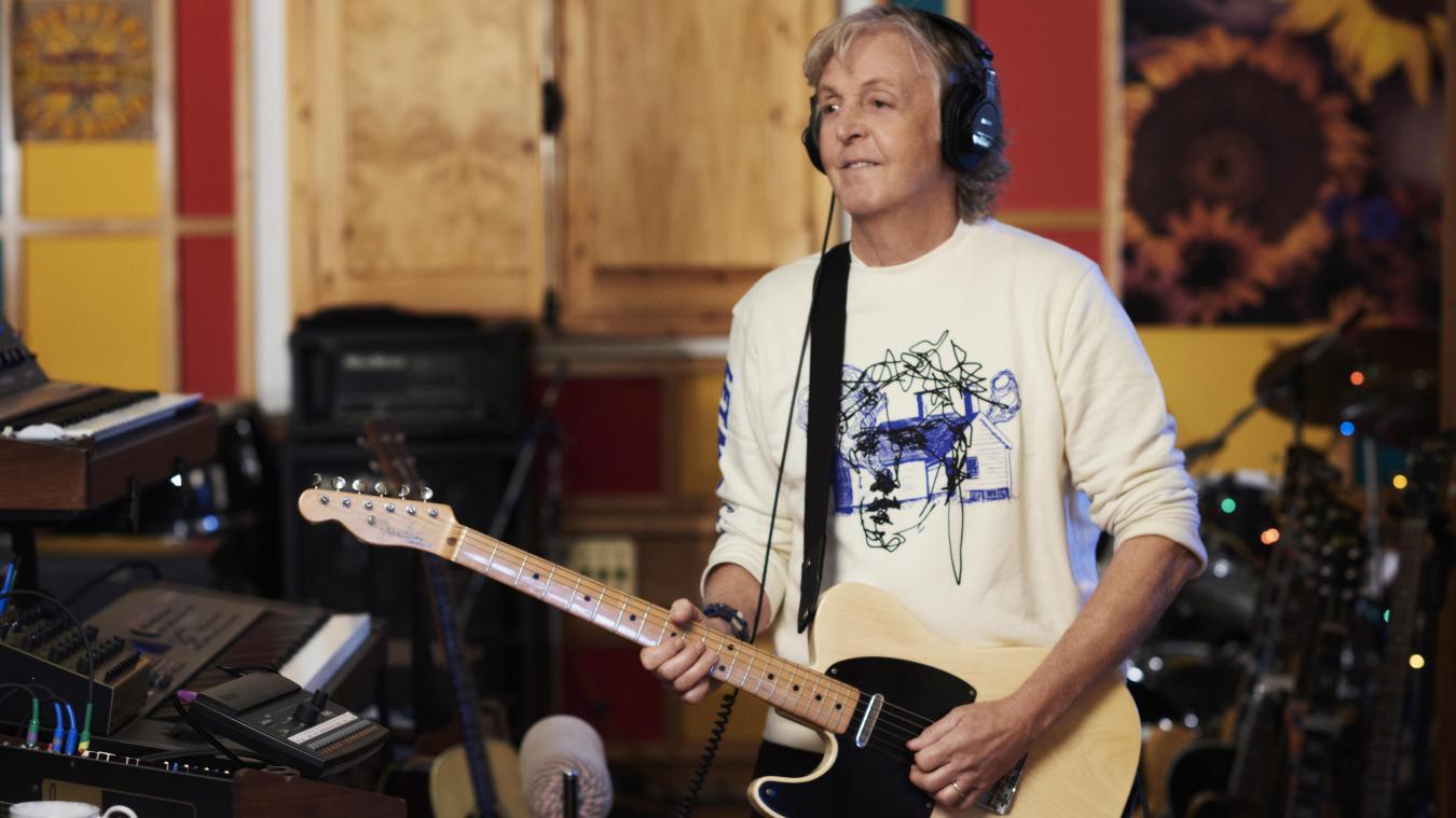 Paul McCartney profite de la sortie pour encourager la vaccination — Nouvel album