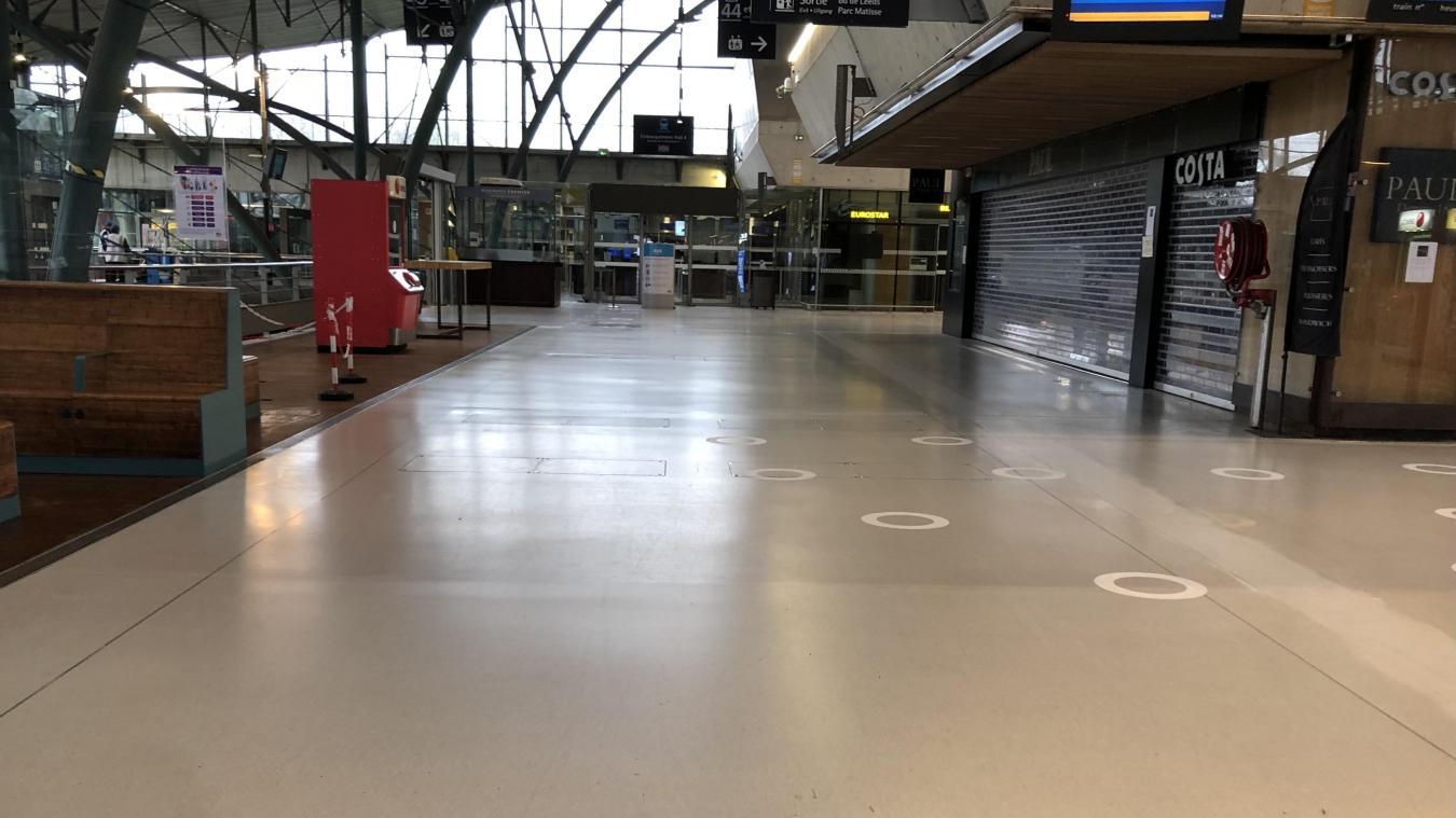 Lille: les Eurostars ne font que passer à Lille-Europe et uniquement vers Londres