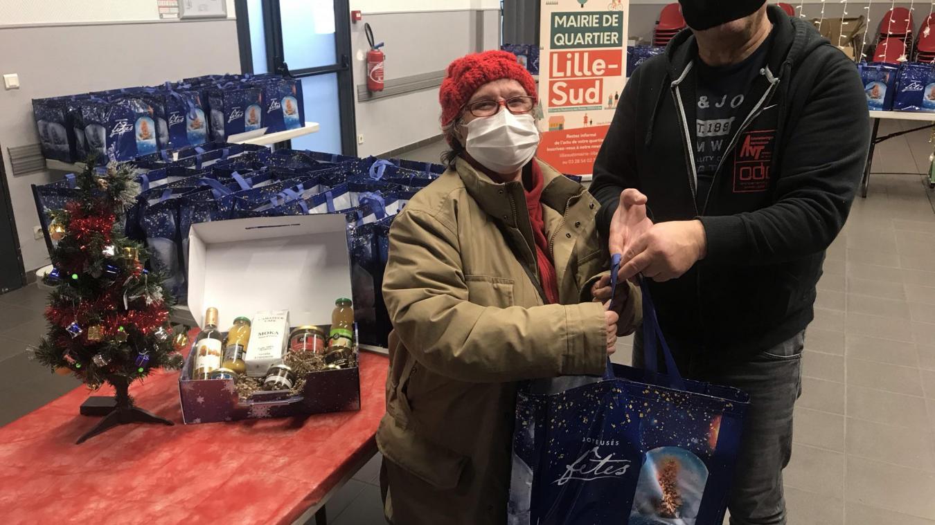 Lille: près de 450 colis de Noël déjà distribués à Lille-Sud