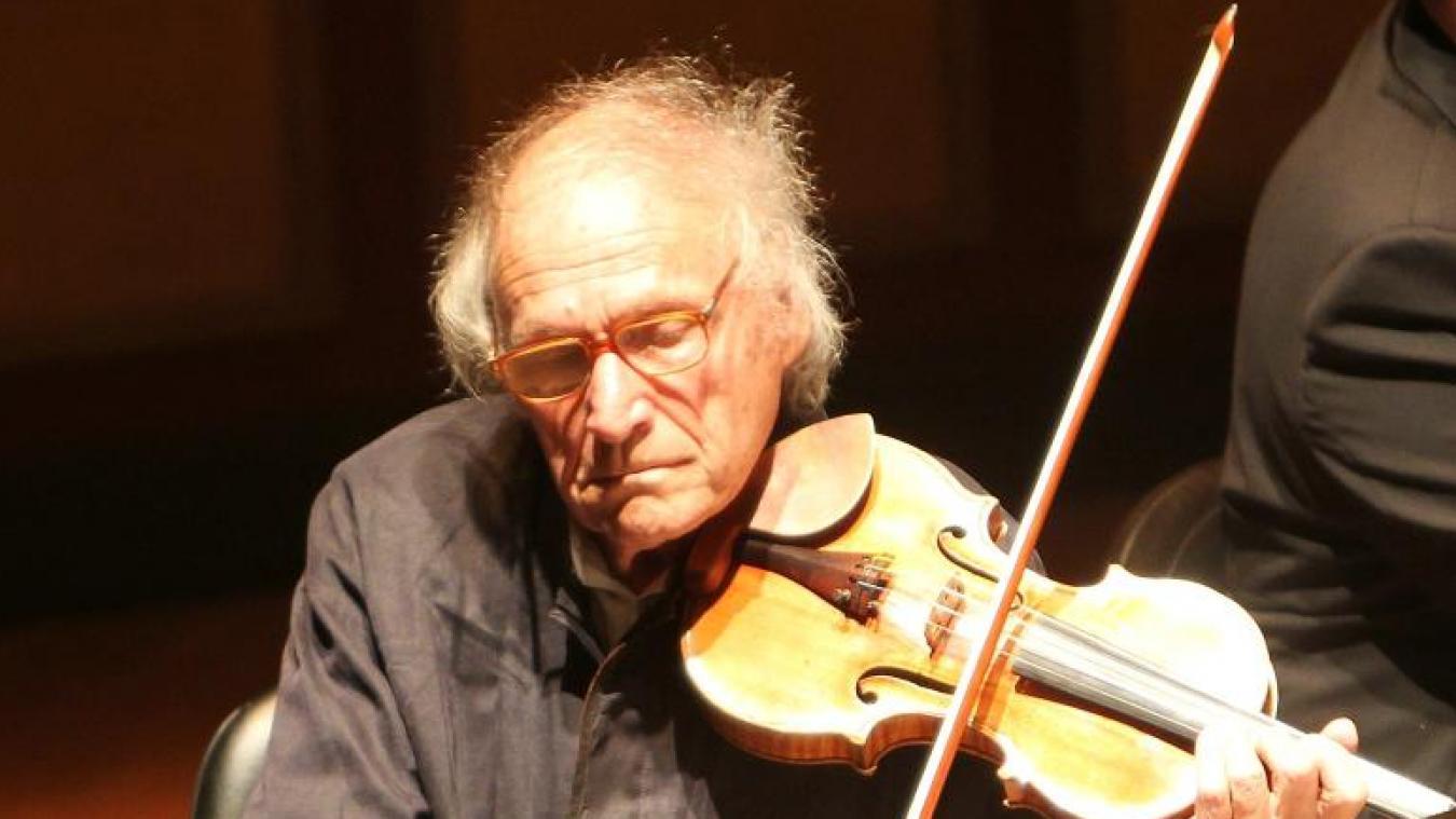 Mort d'Ivry Gitlis, violoniste virtuose et figure forte du monde classique