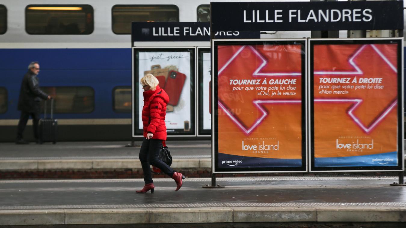 Une panne d'alimentation électrique est survenue en gare Lille-Flandres ce vendredi matin. PHOTO ILLUSTRATION BAZIZ CHIBANE LA VOIX DU NORD
