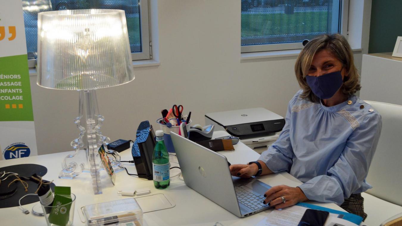 À Tourcoing, Sophie Mouquet monte son entreprise d'aide à domicile pour  «faire bouger les lignes»