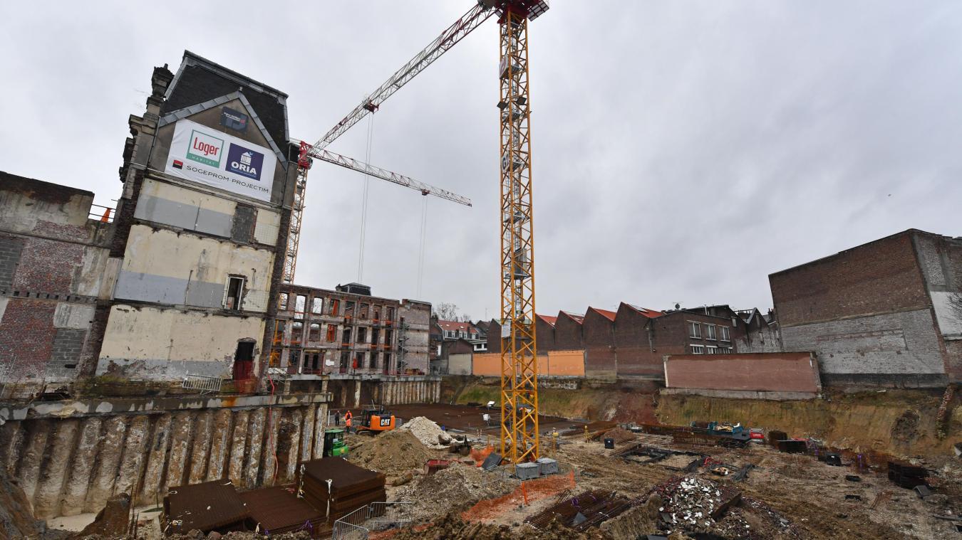 Lille: bienvenue dans le colossal chantier de rénovation de l'ancien collège Jean-Macé