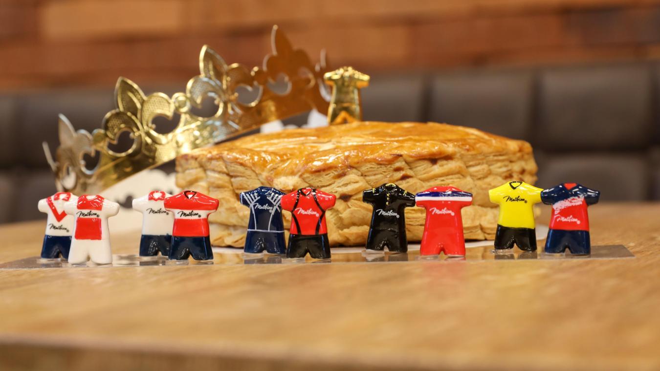 Métropole lilloise : des fèves des maillots iconiques du LOSC dans les galettes des boulangeries Mathieu