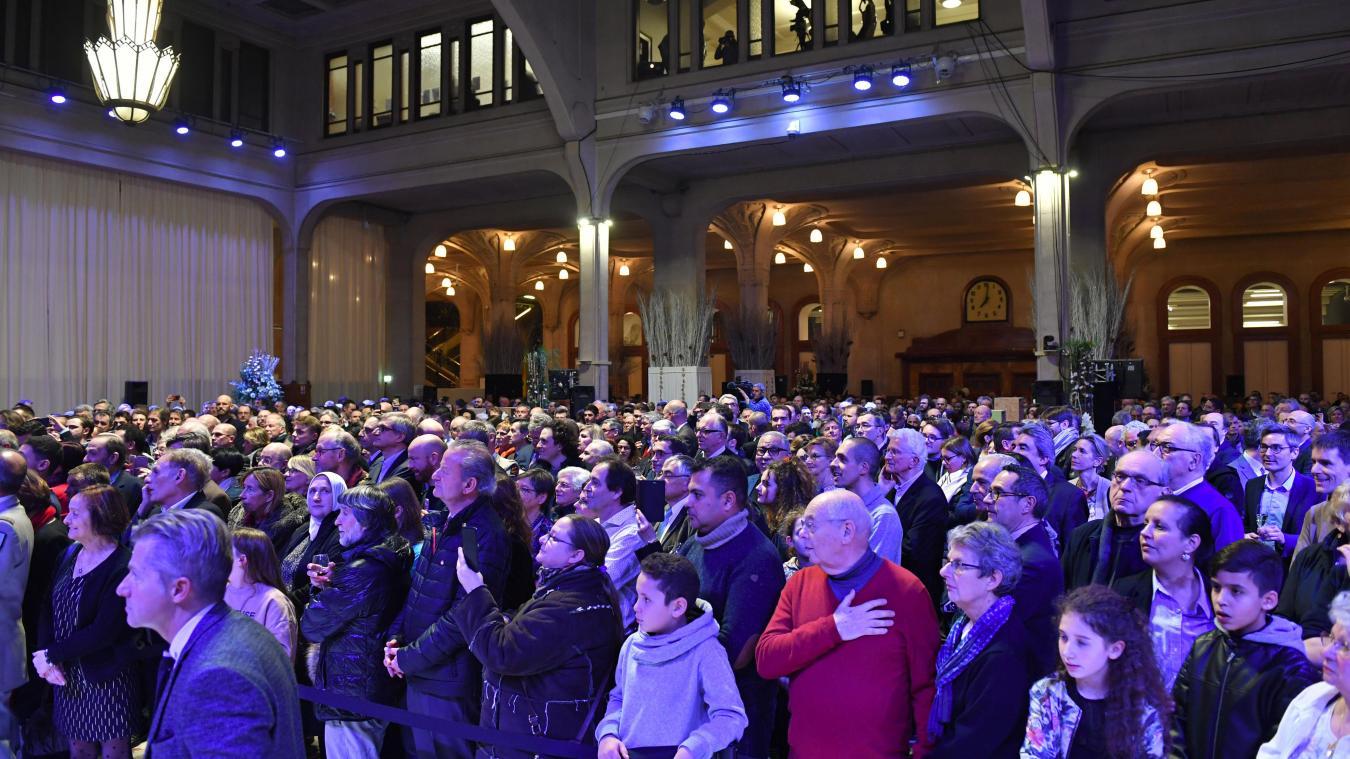Lille: pas de cérémonie de vœux en public mais un plan B en préparation