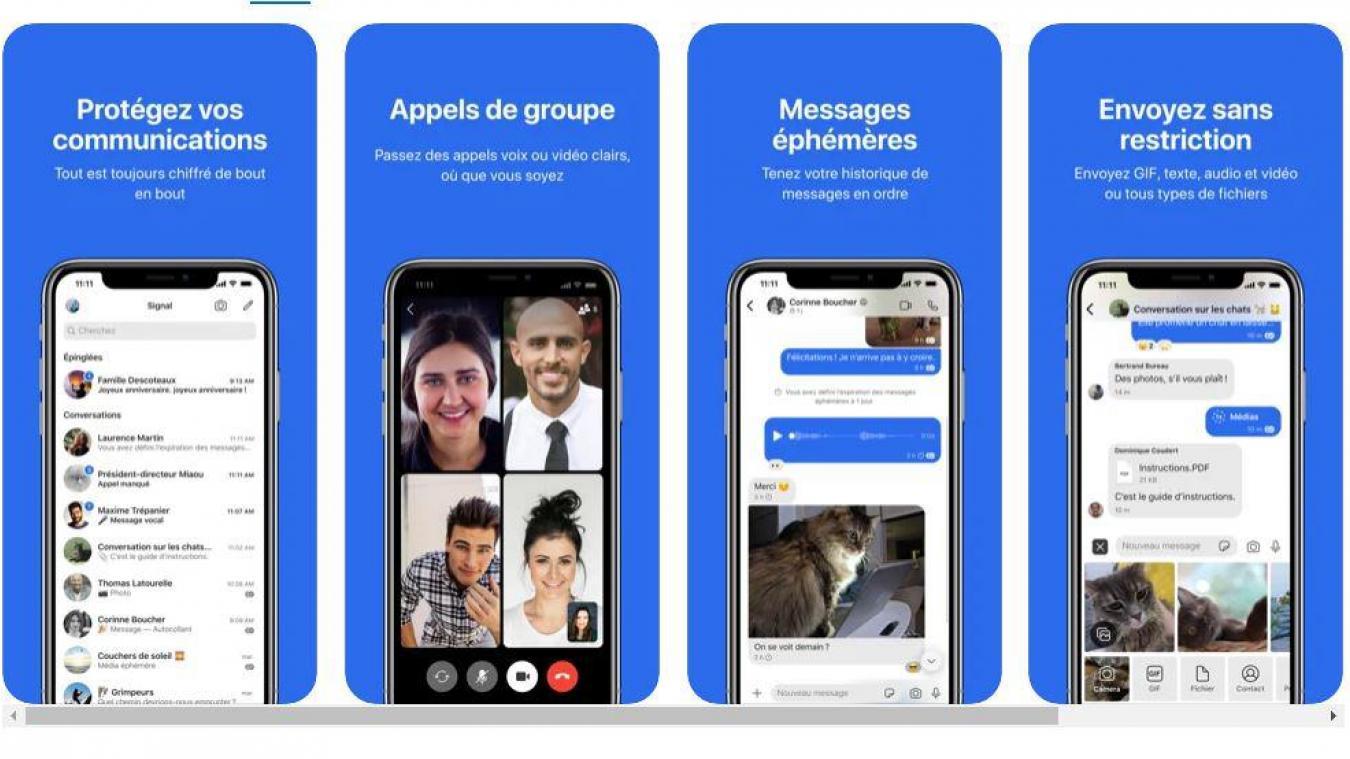 Nouvelles règles WhatsApp : hausse des téléchargements record pour Telegram et Signal