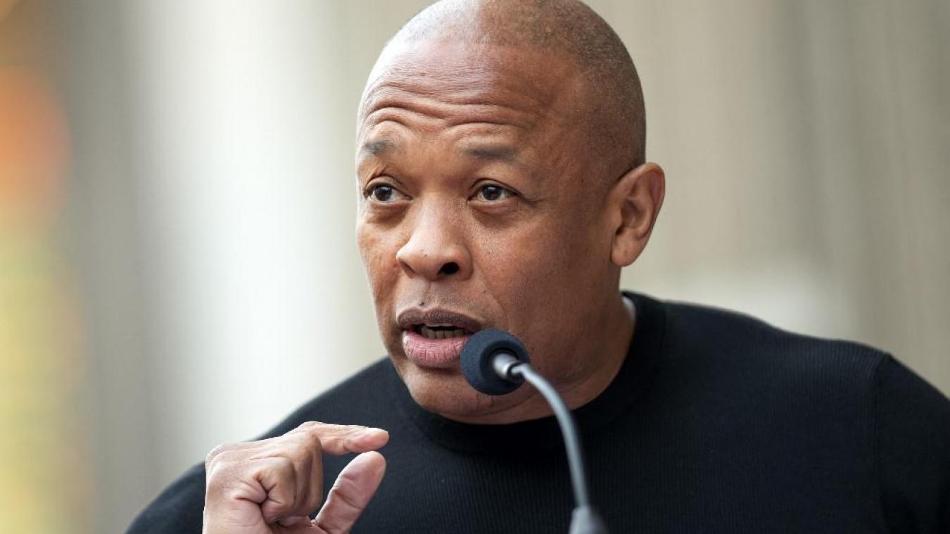 Dr. Dre hospitalisé en soins intensifs depuis une semaine