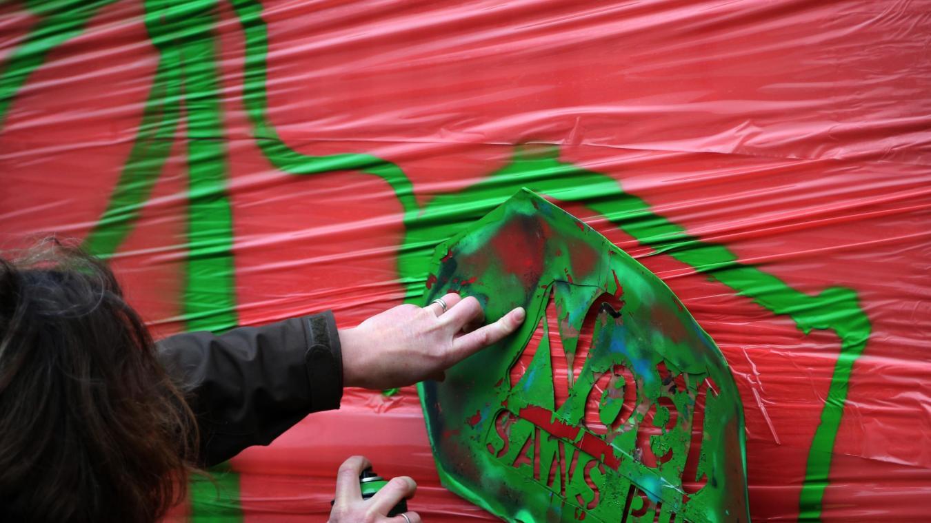 Procès en appel ce jeudi à Douai d'un militant antipub lillois: Barbouillage et liberté d'expression