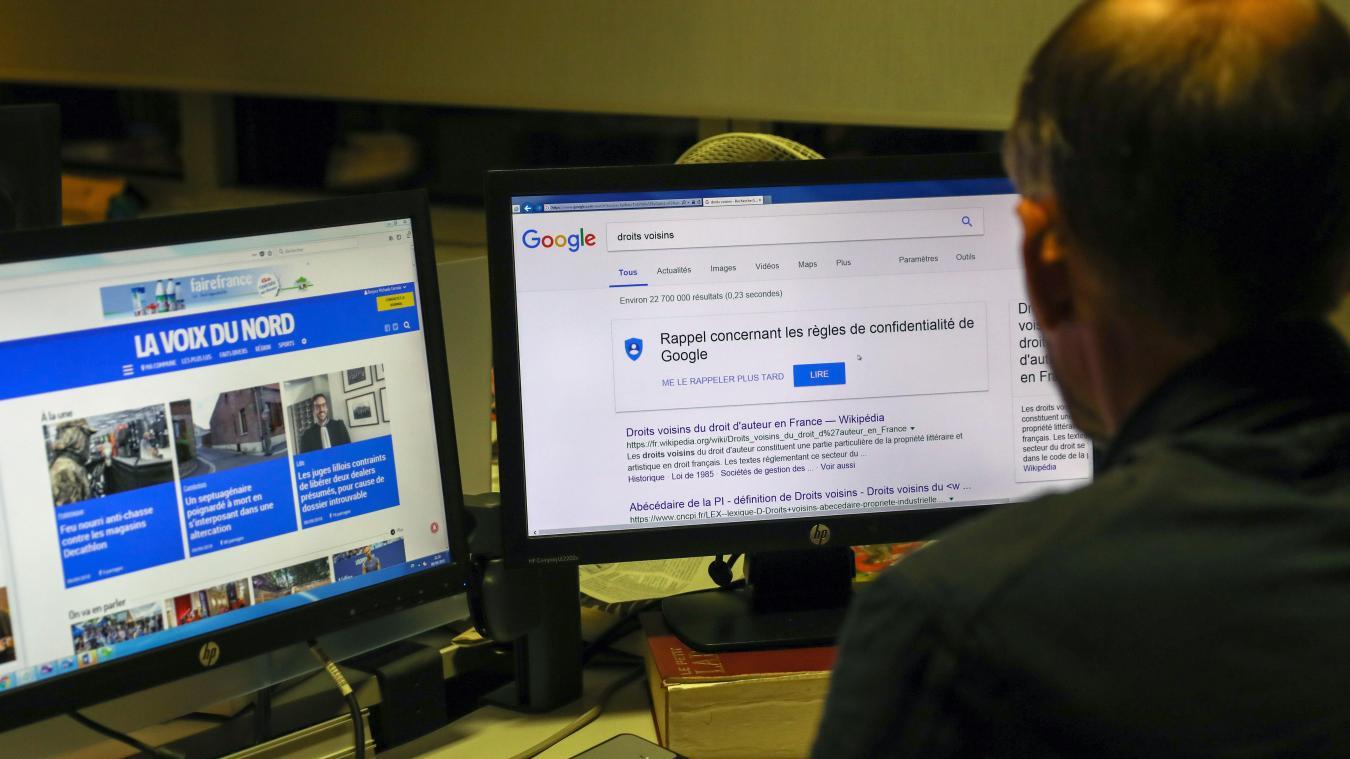 Google a signé un accord pour rémunérer la presse française - La Voix du Nord