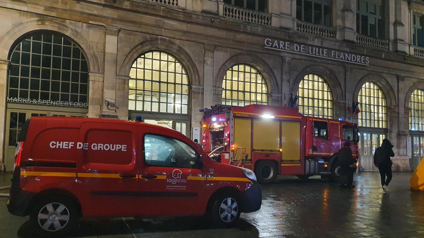 Un colis suspect découvert à la gare Lille-Flandres ce jeudi soir