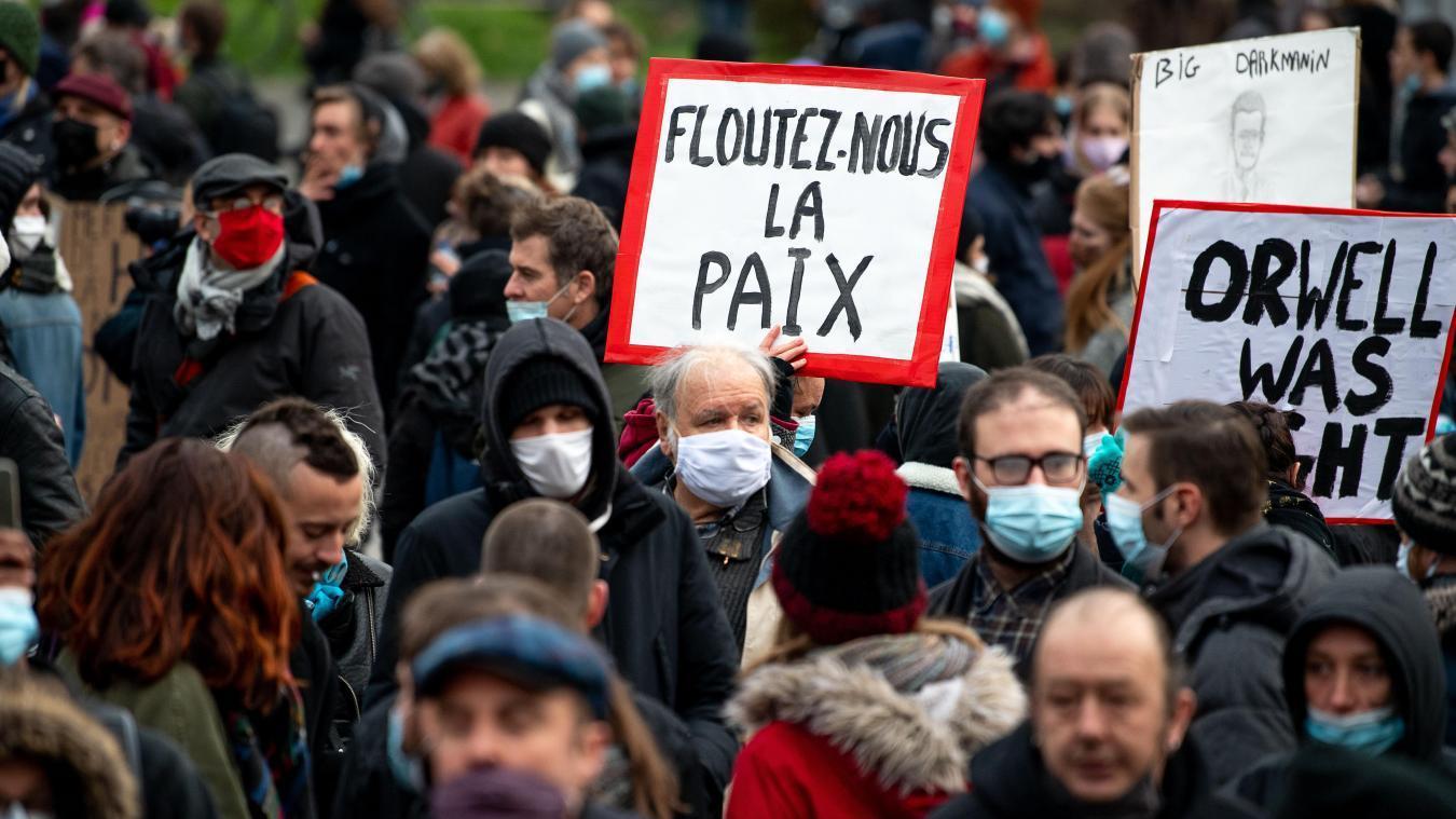 32.770 manifestants recensés en France — Loi sécurité globale