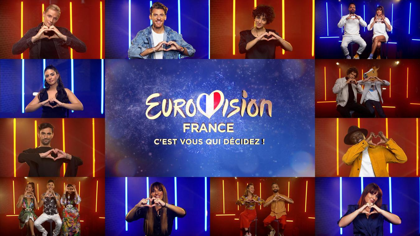 Eurovision: ce samedi on saura laquelle de ces 12 chansons représentera la France