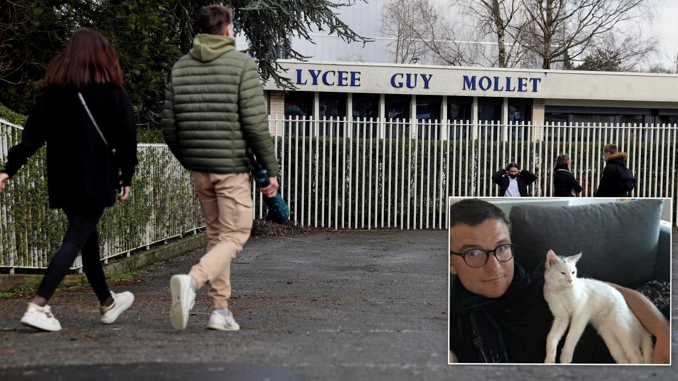 Le lycée Guy-Mollet d'Arras sous le choc après le décès brutal de Rémi Cheval, « un prof de maths en or » - La Voix du Nord