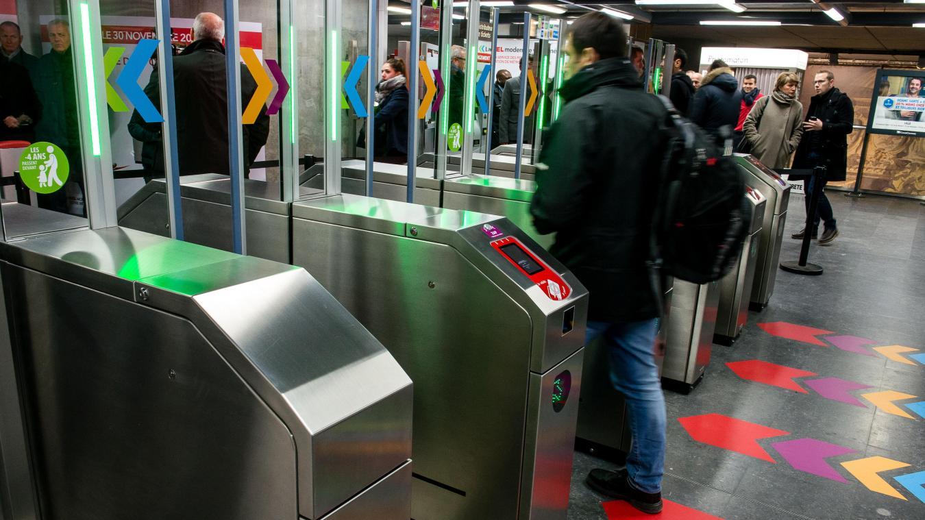 Lille: encore et toujours des vols de téléphone portable dans le métro ce week-end