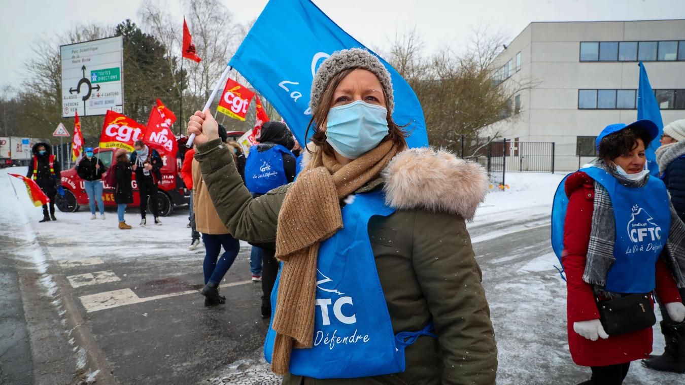 précédent Villeneuve-d'Ascq: manifestation devant le siège de Nocibé contre le plan de licenciement - La Voix du Nord