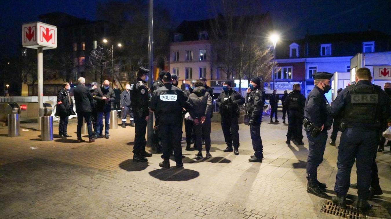 Les contrôles ont été menés dans les quartiers de Wazemmes et de Moulins. Photo DDSP59/com