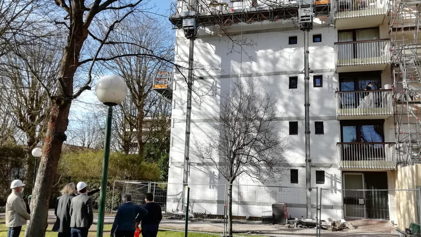 Lille: de gros travaux à la résidence du Parc d'Isly, à Vauban-Esquermes