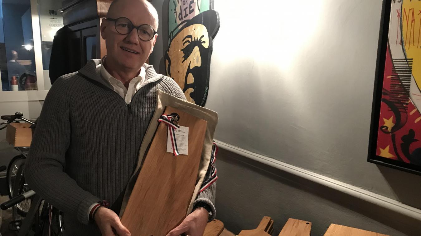 Lille: Brüt, parce qu'il a eu brutalement envie de planches en bois massif