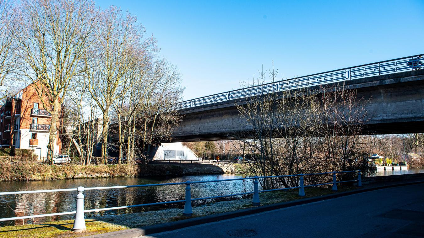 Le pont de l'Hippodrome, entre Lille et Lambersart, sera en travaux pendant huit mois à partir de ce lundi