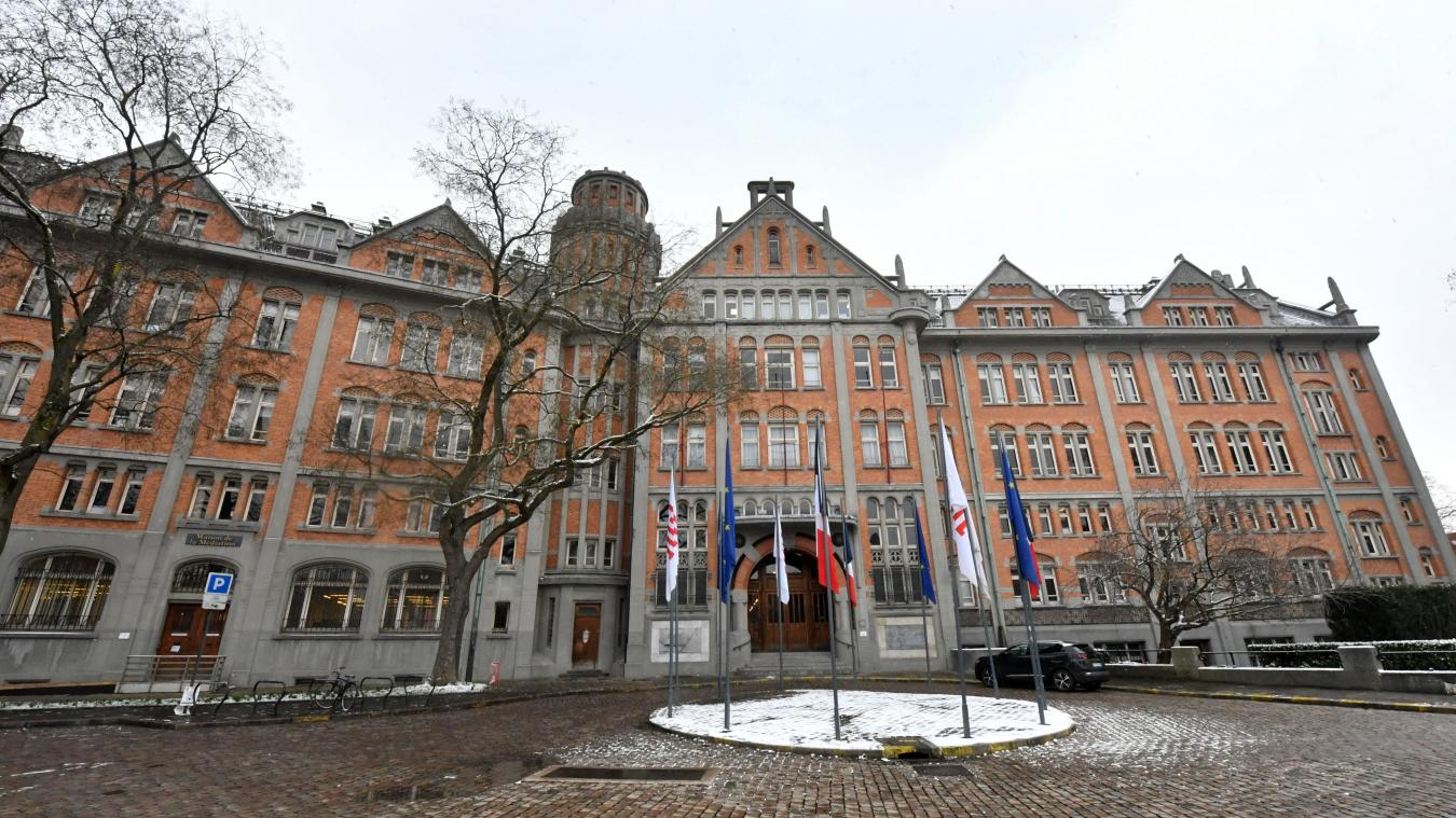 L'hôtel de ville (notre photo) reste ouvert. Les mairies de quartier, elles, sont ferméés jusqu'au 3 mai, mais joignables par téléphone ou par mail. Photo archives Pierre Le Masson
