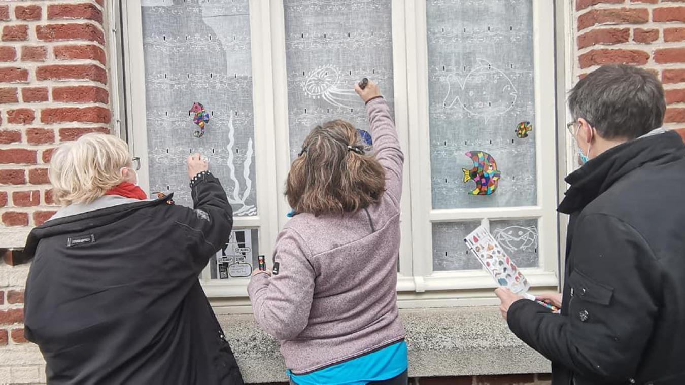 les Fenêtres qui Parlent fêtent leurs 20 ans et amènent l'art dans la rue