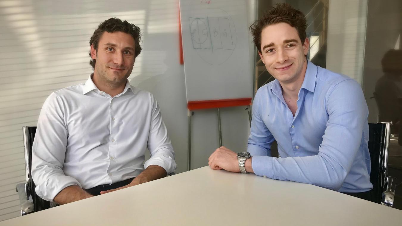 Baptise Kornyeli et Maxence Hien, consultants chez Arthur Loyd Lille.
