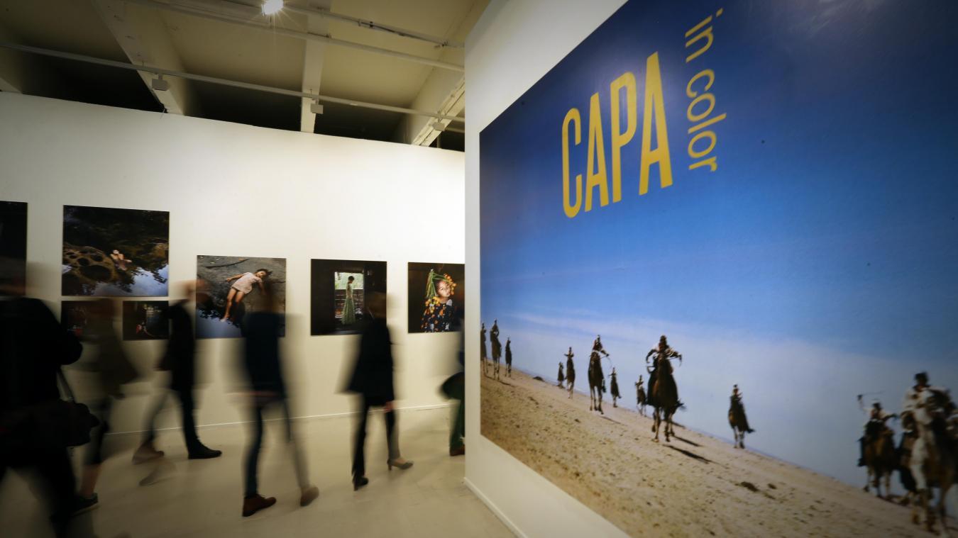 hommage à Capa. PHOTO PIB