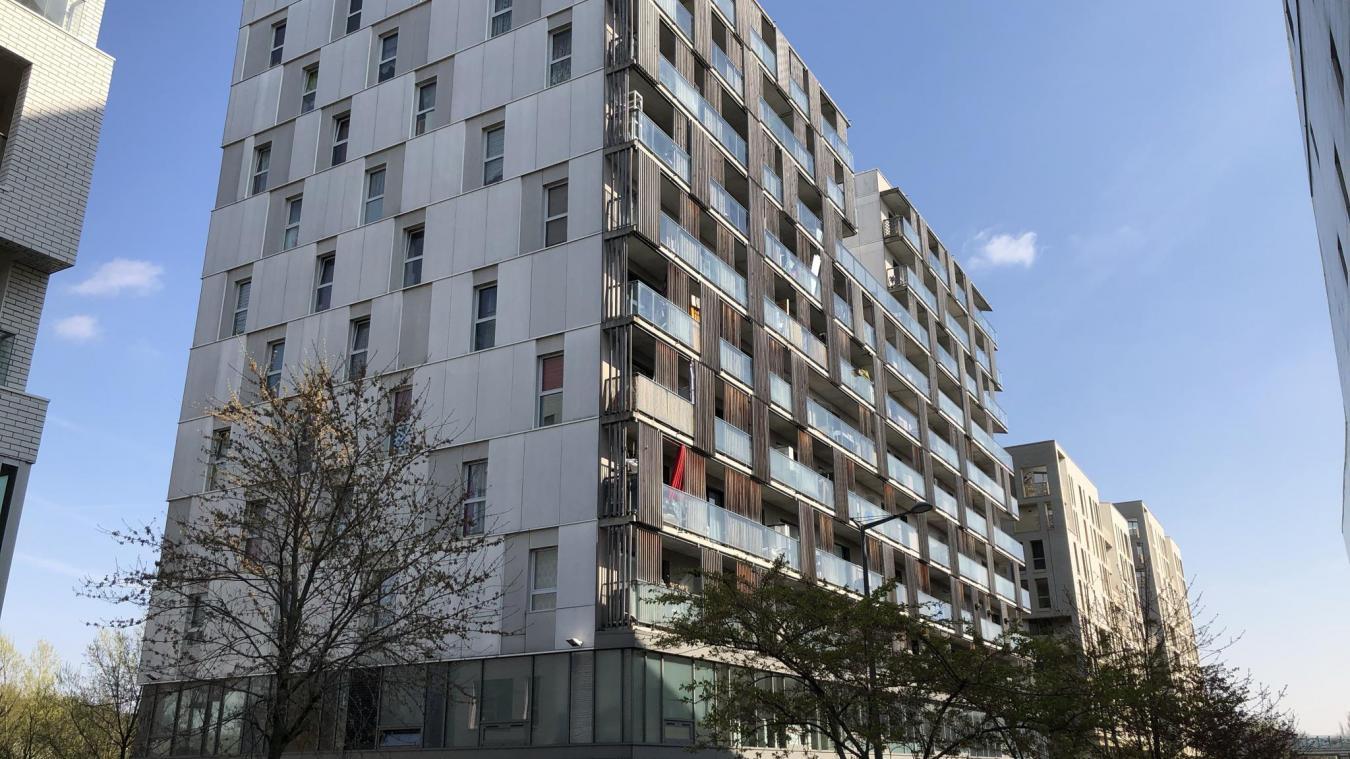 La victime avait été découverte dans un appartement LMH de la rue Jean-Prouvé à Lille.