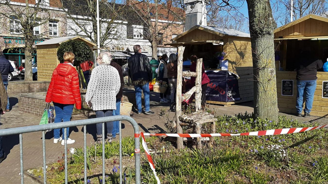 Wormhout essai plus que satisfaisant pour le marché des restaurateurs, qui  revient mercredi