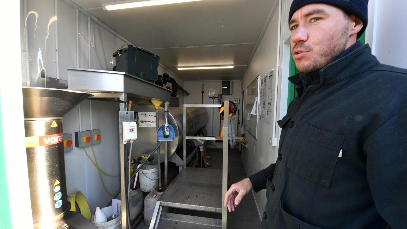 l'entreprise va lancer une unité micro-industrielle à Santes. PHOTO PIERRE LE MASSON LA VOIX DU NORD