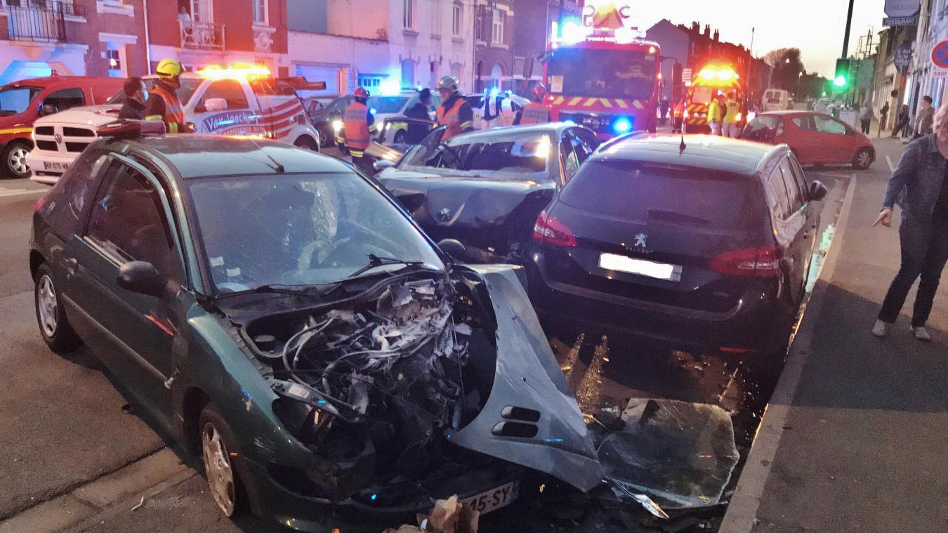 Trois jeunes blessés dans un accident dimanche soir à Ronchin