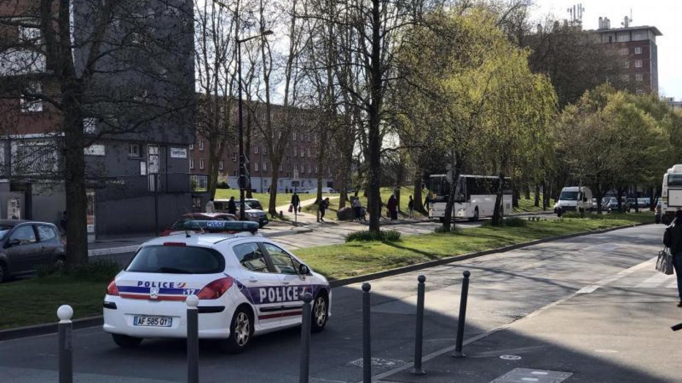 Lille: tensions ce week-end dans le quartier de Moulins, deux policiers légèrement blessés