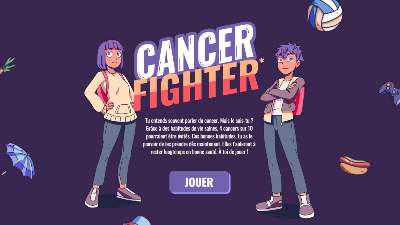 Cancer Fighter, le jeu vidéo pour apprendre aux jeunes à échapper au cancer