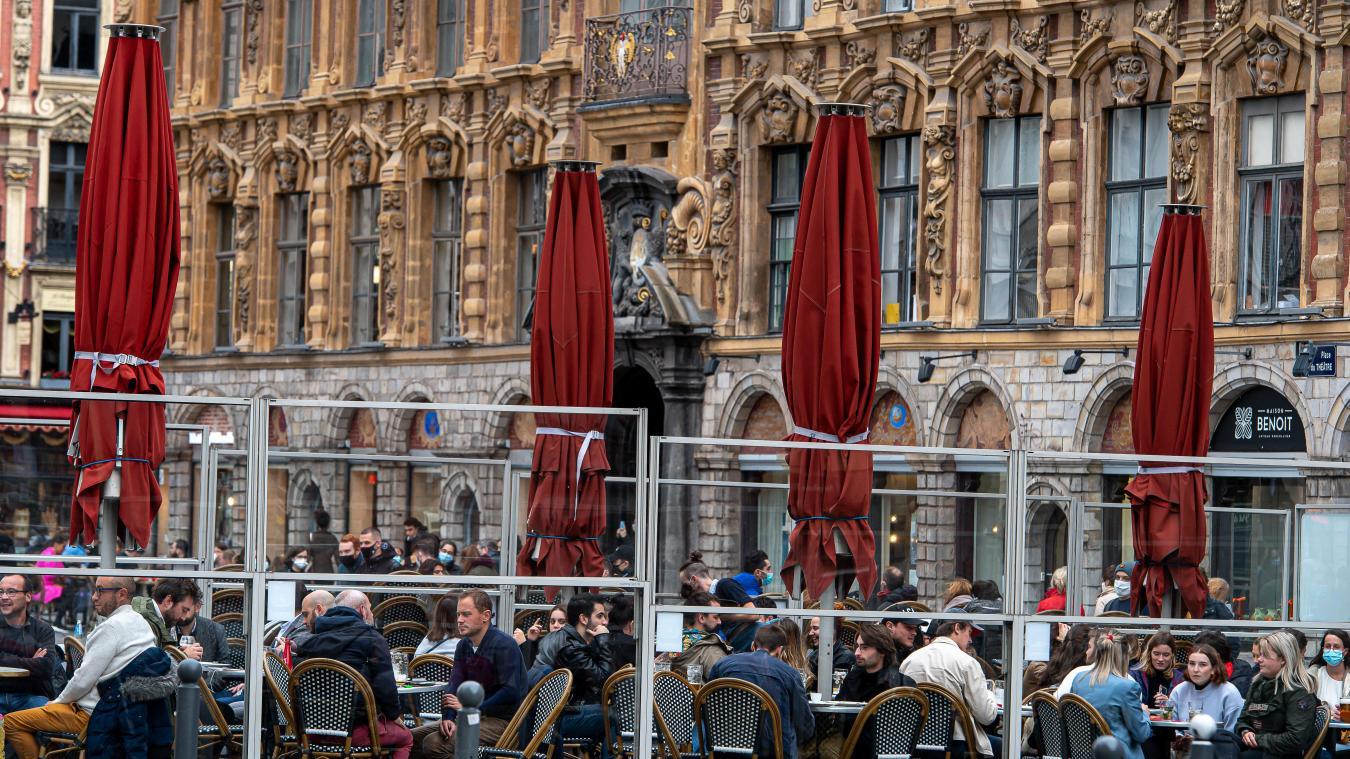 Violette Spillebout plaide, notamment, pour une «exonération temporaire des droits de terrasse». PHOTO ARCHIVES PASCAL BONNIERE