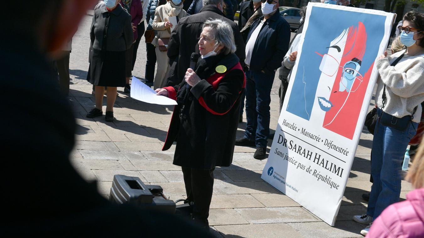 Près de 200 personnes à Lille, dimanche: «Nous réclamons une loi Sarah Halimi»