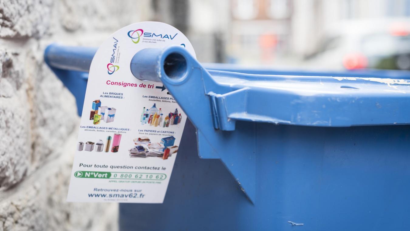 Smav Calendrier 2022 Retour de la collecte hebdomadaire des recyclables en Arrageois