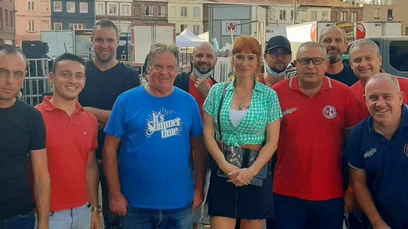 Lille - Nice : des supporters du LOSC en tournage avec Audrey Fleurot