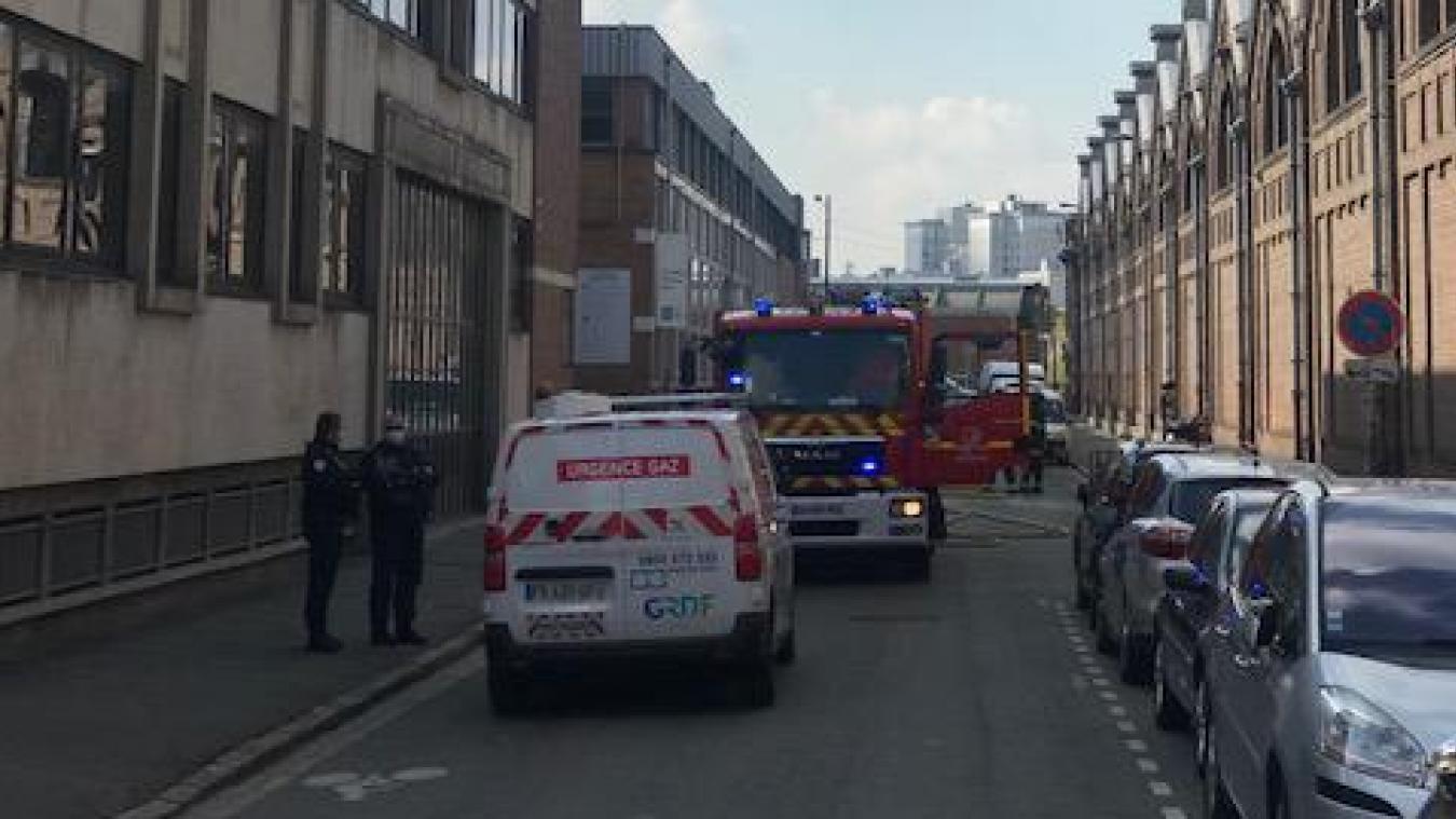 Lille: fuite de gaz devant l'Institut Pasteur ce vendredi matin