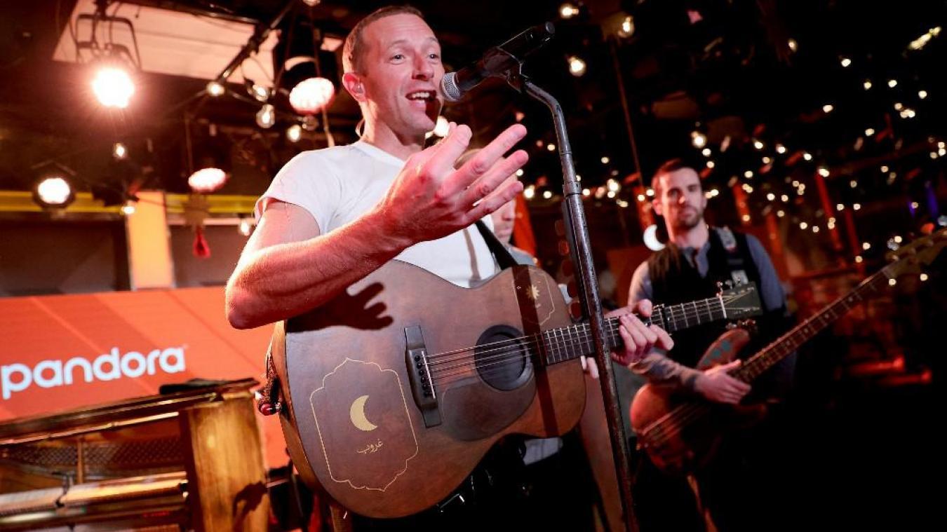 Coldplay et l'astronaute Thomas Pesquet préparent un petit quelque chose pour vendredi…
