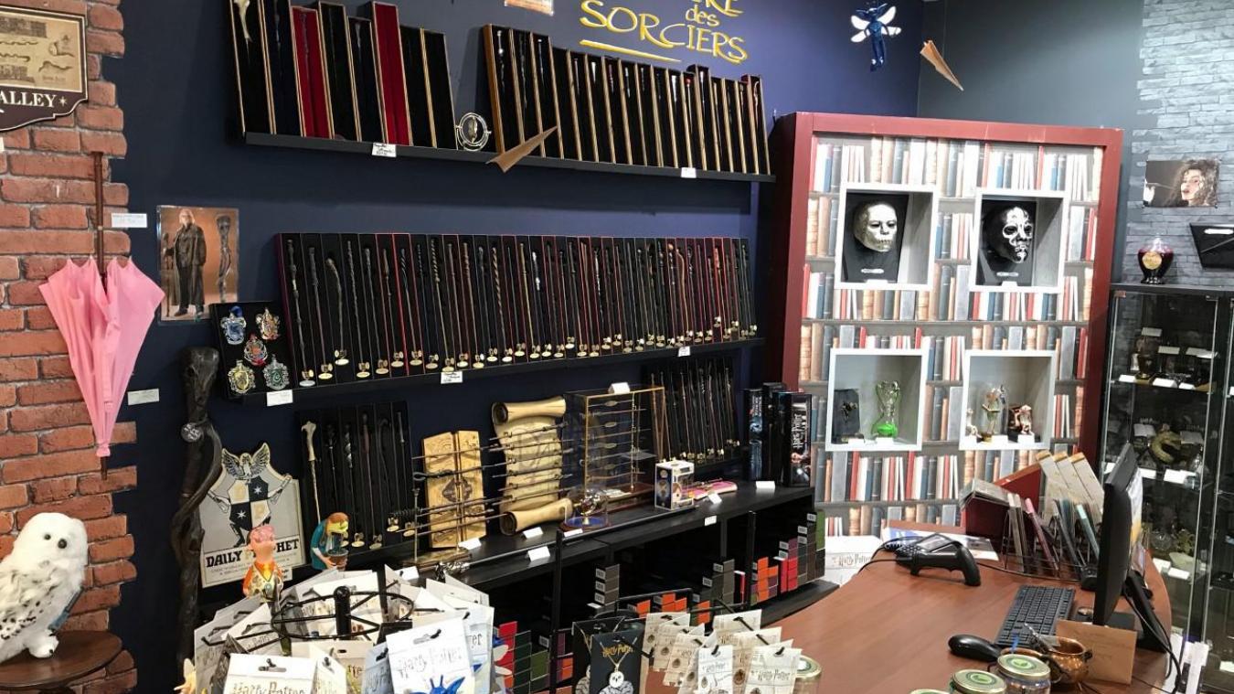 Lille : Une boutique dédiée à l'univers d'Harry Potter va ouvrir à Westfield Euralille
