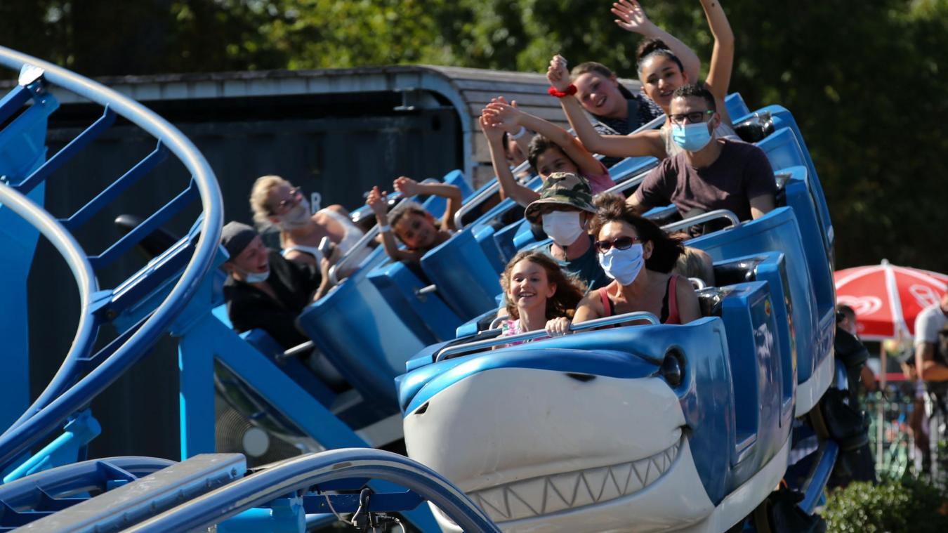 La quinzaine d'attractions de Cita-Parc seront de nouveau accessibles à compter de ce mercredi. PHOTO ARCHIVES BAZIZ CHIBANE