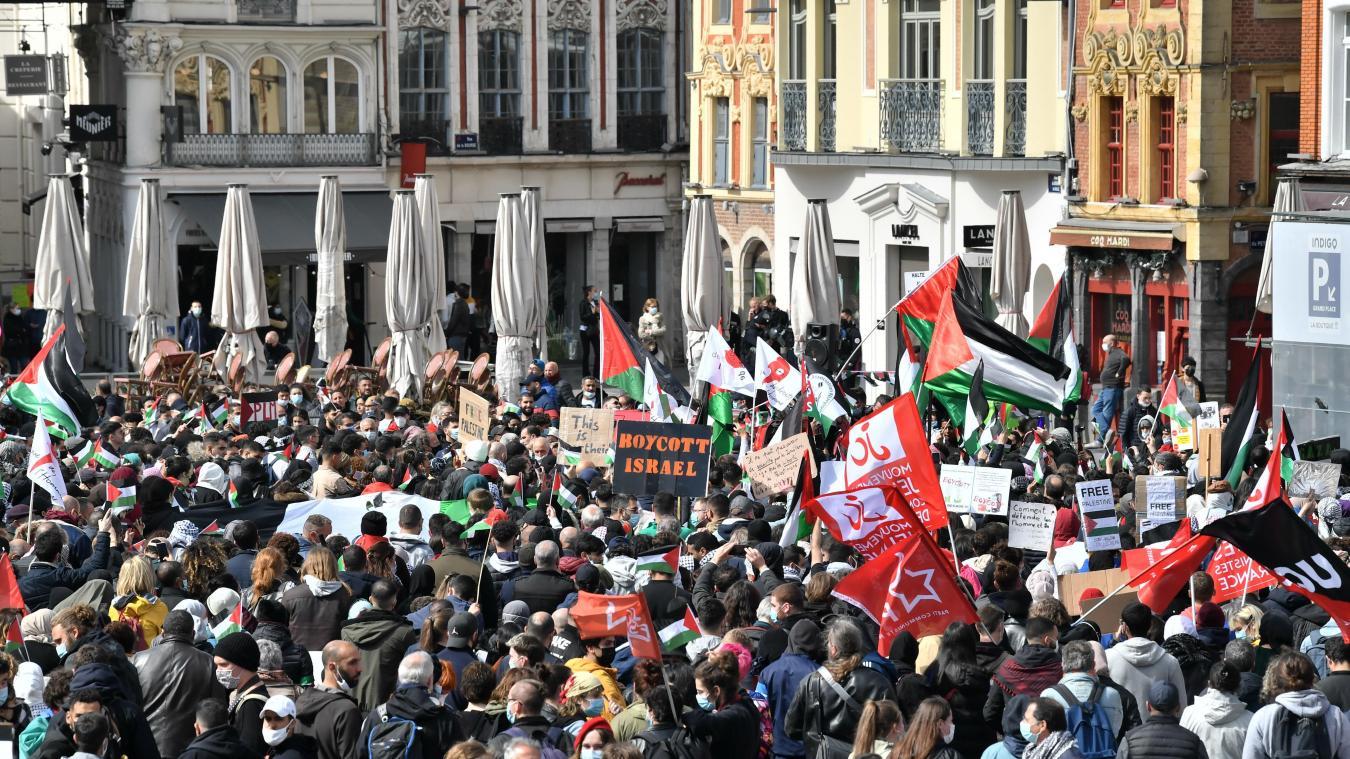 Lille: une croix gammée dans le cortège en soutien à la Palestine, le Préfet saisit la justice