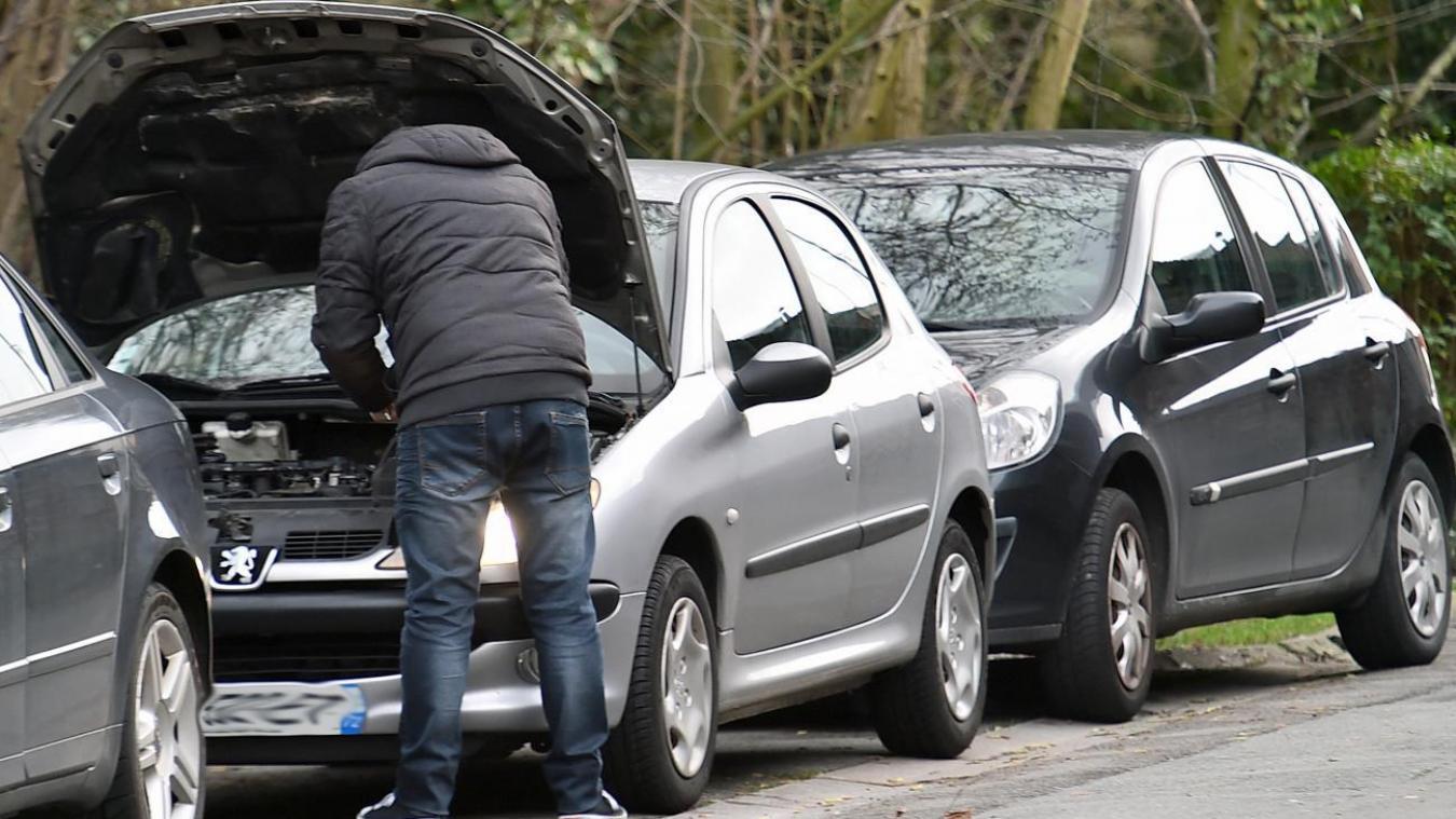 Wattignies: un mineur interpellé alors qu'il désossait une voiture volée